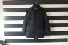 VANCL Men's Black Full Zip Hooded Coat Jacket Size M Medium