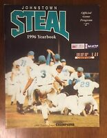 1996 * Johnstown Steal * Baseball Yearbook Program Frontier League ** DEFUNCT **