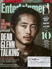 Entertainment Weekly 11/4/16 Steven Yeun Glenn The Walking Dead Fantastic Beasts