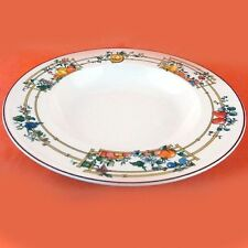 """MON JARDIN Villeroy & Boch Rim Soup Bowl 9"""" NEW NEVER USED made in Luxembourg"""