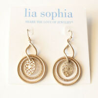 New Lia Sophia Drop Dangle Earrings Gift Fashion Women Party Holiday Jewelry