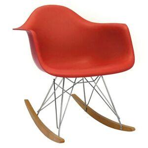 !SALE! Original Vitra RAR Eames Rocking Chair - Red, BEST PRICE
