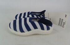 H&M Dark Blue Striped Water Shoes UK 2.5-3.5 EU 18-19 JS087 MM 15