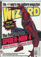 Wizard Magazine #194 December 2007 Sealed Original Poly Bag