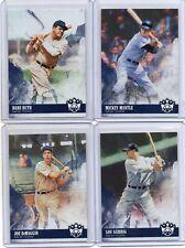 RUTH / MANTLE / GEHRIG / DIMAGGIO Lot Of 4 Yankees 2018 Diamond Kings Base Card