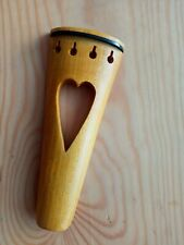 BAROQUE STYLE VIOLIN TAILPIECE, HANDMADE, MAPLE, 4/4 FULL SIZE, FROM UK!