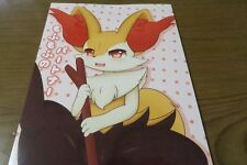 Doujinshi POKEMON Braixen uke (B5 16pages) kinako Mofumofu furry kemono