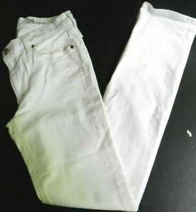 Womens jeans J.CREW MATCHSTICK size 28 reg white (me54)