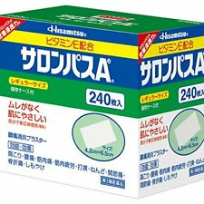 HISAMITSU SALONPAS Ae Pain Relieving Patch, 240 Patches (Reg From japan