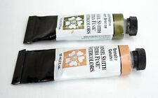 2x 15ml professional watercolour DANIEL SMITH Extra Fine / Bronzite, Duochrome B