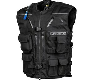 Scorpion Covert Tactical Riding Vest - Hydration Ready - Concealed Carry Pocket