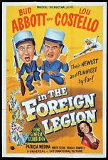 ABBOTT AND COSTELLO IN THE FOREIGN LEGION Original One sheet Movie Poster