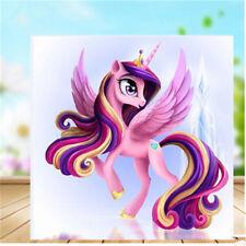 Pony Unicorn 5D DIY Diamond Embroidery Painting Cross Stitch Kids Home Decor EL