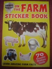 ANIMAL DETECTIVES ON THE FARM STICKER BOOK  - BRAND NEW