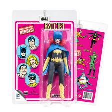 DC Comics Action Figures With Mego-Like Cards: Batgirl [Cloth Print Pink Card]
