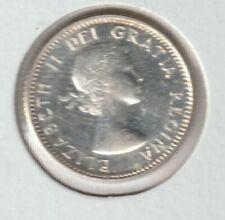 1955  Canada  80 % Silver 10 Cent High Grade