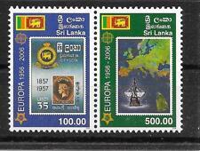 m827 SRI LANKA/ 50 Jahre CEPT-Marken MiNr 1525/26 ** waagrechtes Paar