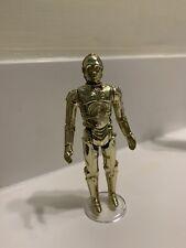 C-3PO Droid Vintage Star Wars figure 1977. loose 3.75 inch, part of original 12