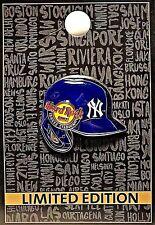 Hard Rock Cafe Yankee Stadium New York Yankees Batting Helmet Pin New LE # 95357