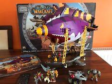 MEGA BLOCKS Not Lego - Wow WORLD OF WARCRAFT - GOBLIN ZEPPELIN 100% Complete