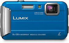 PANASONIC LUMIX TS30 Waterproof Digital Camera Blue New!!!