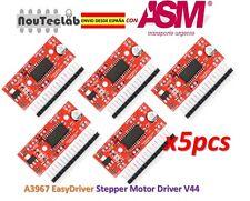 5pcs A3967 EasyDriver Stepper Motor Driver V44 Development Board ENVIO RAPIDO