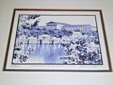 Sacco & Ehrlich signed framed print PHILADELPHIA MUSEUM OF ART 16/500