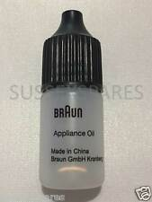 GENUINE BRAUN SHAVER CLEANING OIL, 5ML CLIPPERS REMINGTON PHILIPS PANASONIC WAHL