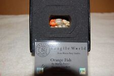 Harmony Kingdom Mp'S Fragile World~Orange Fish ~nib~Coa ~made in England