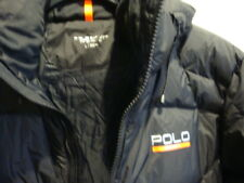 NWT New Men Polo Sport Quilted Down Coat Jacket Black  L