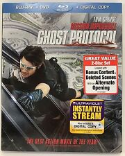Mission: Impossible - Ghost Protocol (Blu-ray/DVD, 2012, 2-Disc Set,Digital Cpy)