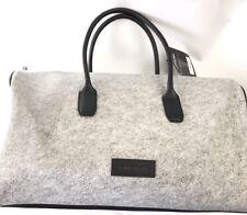 Kenneth Cole large shoulder Gray Weekend Duffle Bag Travel Gym Satchel New