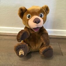 Hasbro Disney Brother Bear Tumble 'n Laugh Koda Talking Plush Stuffed Animal