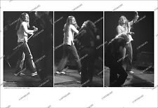 Johnny Van Zant UNIQUE 3-FRAME 1980 PHOTO SEQUENCE Lynyrd Skynyrd FROM ORIG NEGS