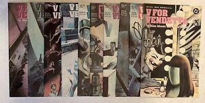 V For Vendetta 1-10 Complete Set 1988 DC Comics Great Condition