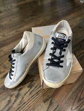 Golden Goose Superstar Sneakers Glitter Flag-White Size 38 Us 8