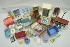 Used Fisher Price Loving Family Dollhouse FURNITURE ACCESSORIES LOT #1 for PLAY
