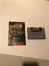 Authentic DK2 Donkey Kong Country 2 SNES Video Game & Manual Super Nintendo