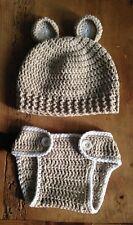 Disfraz Crochet Recién Nacido Bebe 0/3 Meses Atrezo Fotografía  Ganchillo Nuevo