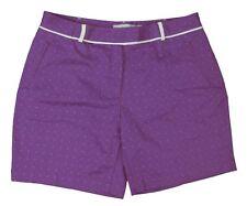Lady Hagen - NWT Women's Lavender/Purple Casablanca Dots Golf Shorts - Size: 8
