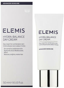 Elemis Hydra-Balance Day Cream 50ml - Combination Skin - New & Boxed - Free P&P