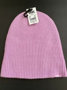 New VANS Of the Wall Street Style Skater Surfer Daily Beanie Cap Hat Soft Purple