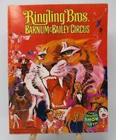 Ringling Bros Barnum & Bailey Circus 1974 104th Ed. Collectible Program Magazine