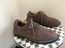 BROWN TOMMY HILFIGER CLASSIC DRIVING WALKING POWER LACE UP SHOES 13 D