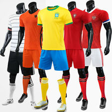 20-21 Season Club Clothes for Men's Football Team Jersey Sets Kids Football Sets