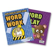 WORD WORK - WALK AROUND BOOKTEST by Larry Becker and Lee Earle - NEW!