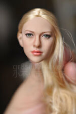 "KIMI TOYS KT004 1/6 Head Sculpt beautiful blond hair sexy girl fit 12"" body"