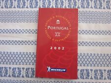 GUIDE MICHELIN PORTUGAL 2002
