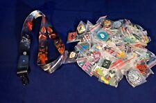 Disney World 25 Pin Trading Lot Lanyard Starter Set Star Wars Kylo Ren Rey Storm