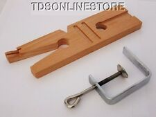 Multipurpose Bench Pin V-Slot With Ring Cutting Jig And Clamp